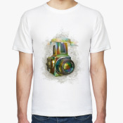 Мужская футболка фотографиче