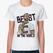 Женская футболка CM Punk.