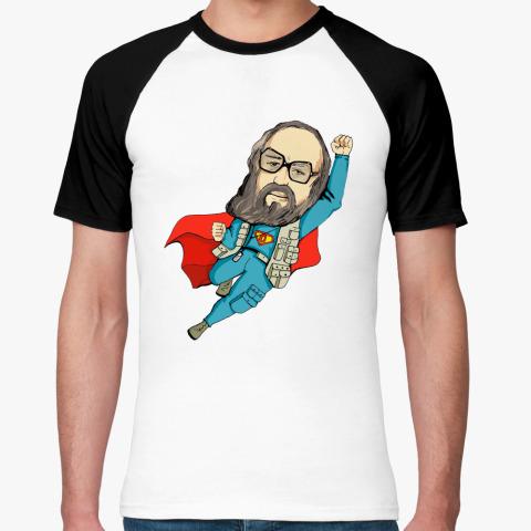 Футболка Онотоле Вассерман супермен!