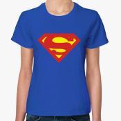 Футболка женская Супермен