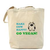 вегетарианская Сумка Make cow happy!