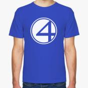 Мужская футболка Fantastic Four