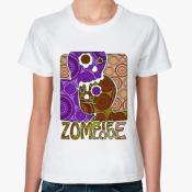 футболка zombie love
