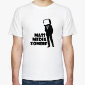 Футболка MASS MEDIA ZOMBIE