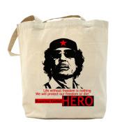 Каддафи HERO холщовая сумка