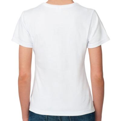 Женская футболка Cat s.
