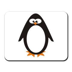 Майка Прикольный пингвин.