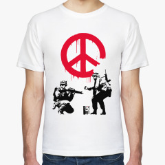 Футболка Banksy на 4u.printdirect.ru