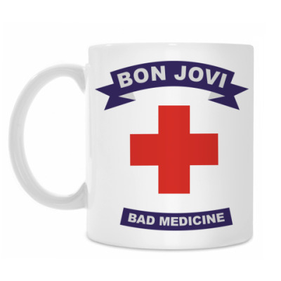 Кружка Bad medicine.