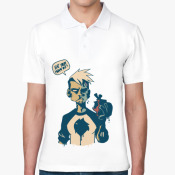 Рубашка поло  зомби