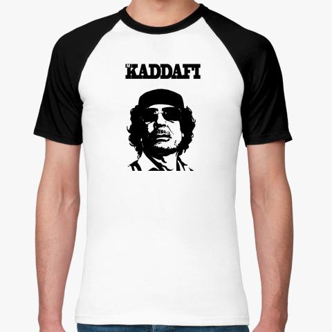 Футболка Реглан Каддафи Муж