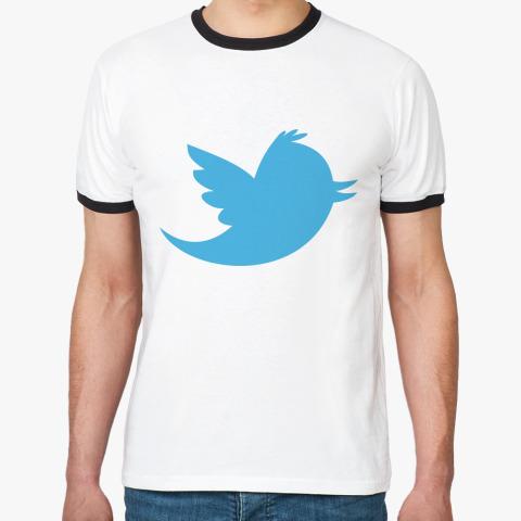 Мужская футболка твиттер