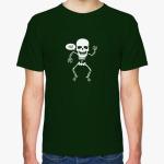 Позитивный приветливый скелет.  Интернет-магазин TRASHMARKET.