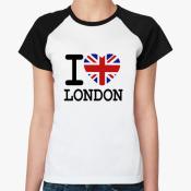 I Love London Женская бел/чёрн
