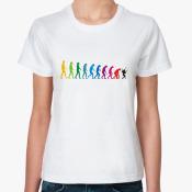 футболка Обратная эволюция