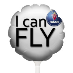 Воздушный шарик SAAB
