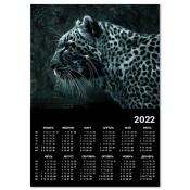 Календарь Снежный Леопард A4