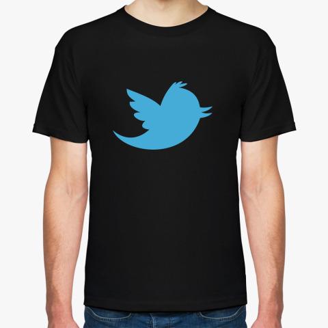 Мужская футболка Новый твиттер