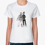 Женская футболка Capoeira.